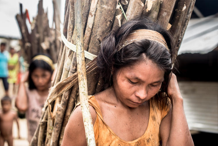 Indigenous people in Colombia struggle to survive one year after the peace agreement. Photo: Ana Karina Delgado Diaz/NRC