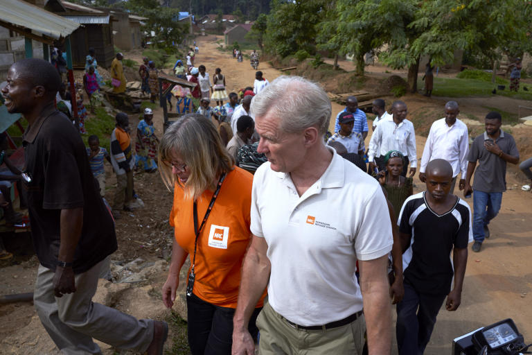 "Jan Egeland and Ulrika Blom, Country Director NRC DRC in Beni, North Kivu.   Only two months into 2018, and North Kivu province is returning as a hotspot in the crisis. A resurgence of inter-communal fighting and violent clashes between armed groups caused a dangerous spike in displacement in 2017. Some 1.2 million people are now displaced in the province – the highest number in any area in the country.  ""Despite the resurgence of violence in North Kivu, critical funding is being pulled out of the province and into other areas, deemed by the UN as higher priority. Aid agencies are forced to juggle dwindling resources. It's a life-threatening lottery on who wins and who loses – with lethal stakes. Areas that lose face sickness, disease and ultimately death,"" said Egeland.  ""The priority for DRC is a massive scale-up of funding and of aid workers in conflict areas, including North Kivu. Otherwise, the humanitarian community won't be able to cope and will face certain calamity. We are already overwhelmed by what feels like a continent of crises, and we as humanitarians are so few and with no means to help."