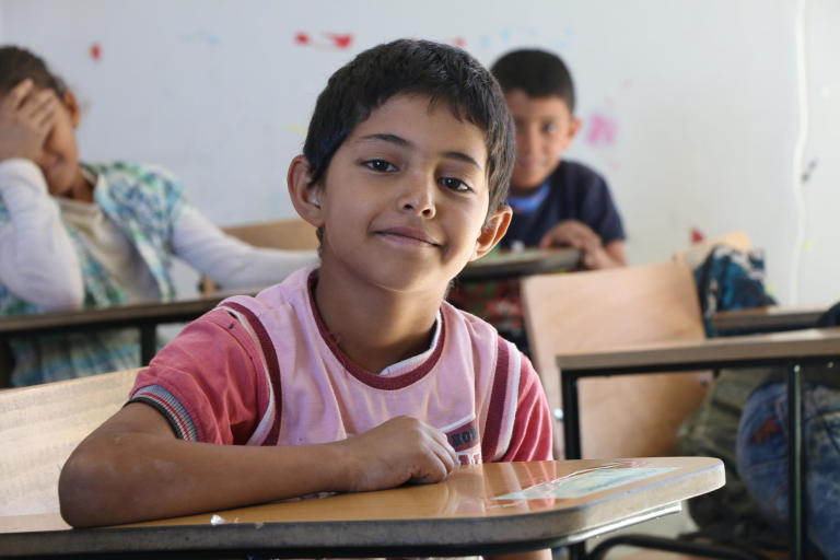According to UNHCR, more than 600,000 school-aged Syrian refugee children live in Lebanon. Education being a fundamental human right, it is one of the most challenging sectors in the country, especially as the number of out of school children continues to grow.  Photo: Nadine Malli/NRC